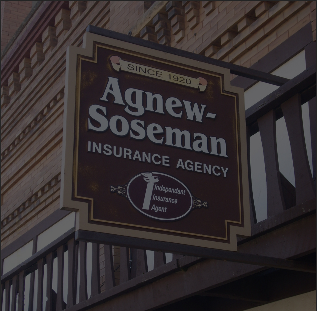 agnew-soseman building and sign
